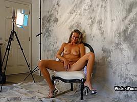 Sofie Marie - Bts Scenes Lavender Photoshoot