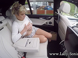 Public Masturbation On The A1 - LadySonia