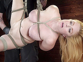 Penny Pax in Penny Pax: Blue-Eyed Redhead Damsel Tormented in Strict Bondage - HogTied
