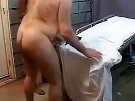 young ebony slave serving white daddy