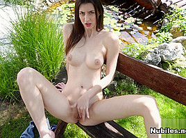 Lina Lux is a gorgeous French chick who has that casual European view on nudity. She loves being naked and playing with her perky breasts until her nipples are...