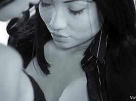 Androgynous Episode 4 - The Driver - Frida Sante & Rina Ellis - VivThomas
