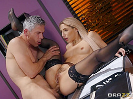 Abella Danger & Mick Blue in How To Suckseed In Business 2 - BRAZZERS