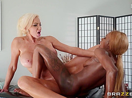 Kinsley Karter & Nicolette Shea in Put Your Body Into It - BRAZZERS
