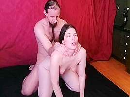 Swimcap & Hand Over Mouth Breathplay Sex & Cum Swallow Evilkitties
