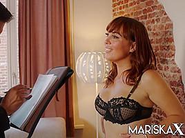 Angelique Pays Her Bills To The Bailiff - MariskaX