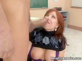 Brittany O'Connell & Chris Johnson in My First Sex Teacher