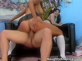 Gianna Lynn & Kaiya Lynn & Kurt Lockwood in Asian 1 on 1