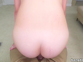 Big Natural Tits and A Mouth Full Of Cum...