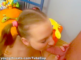 Movies of a cocksucking teen getting drilled
