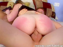 RawVidz Video: Nympho Has Raw Threesome Sex