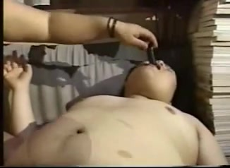 Oriental dad chunky homosexual Girl Throated Tranny