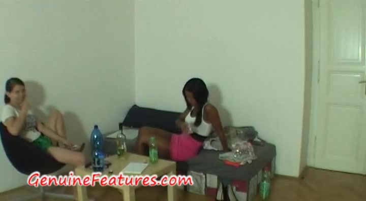 Beautiful ebony at the erotic casting Porn japanese model