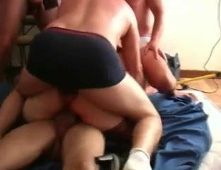Kinky slut gets facialized after hardcore gang banging Chris brown kick his ass