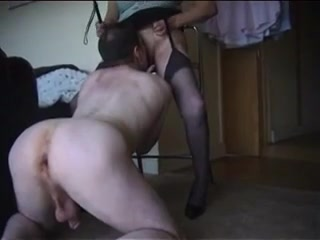 Dominant old lady makes him lick her fillipino sex act videos