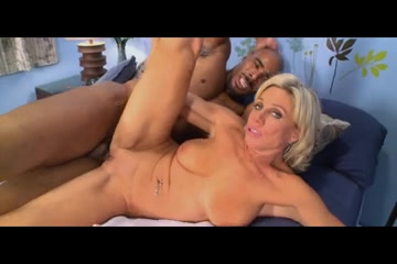 Older lady copulates dark stud My wife takes 2 bbc in ass