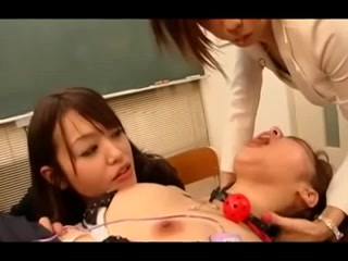 Lesbo school Japanese style sex type of thing