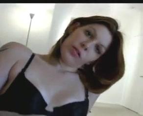 Lovely slut sucks dick