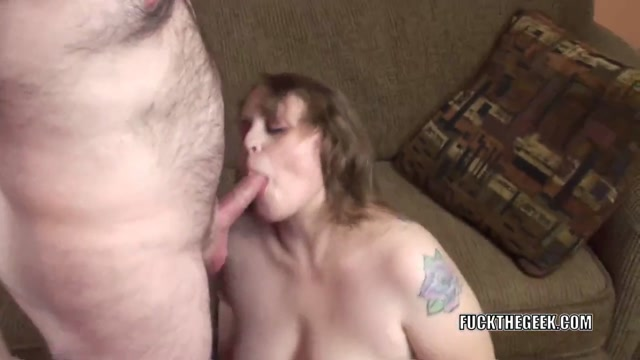 Plump MILF Alex### Sweet is going down on a lucky geek