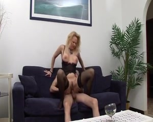 mature milf gets a young stud to fuck her Tranny girls com gal shemale strokers