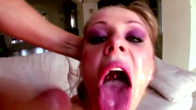 Scenes of shagging and facials in lusty porn icelandic girl with dildo