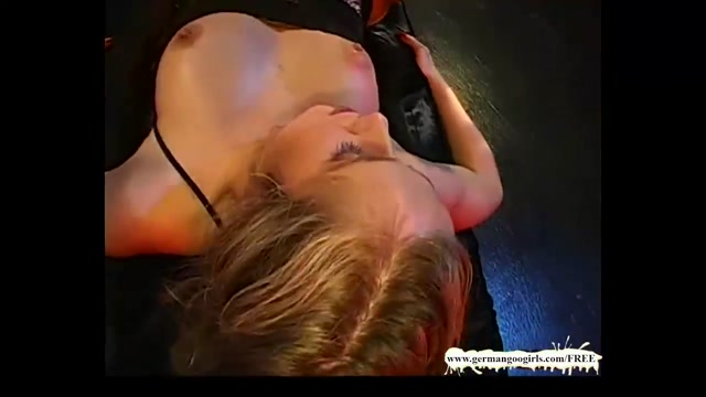 Teen destroyed by a massive cock porn mom and matured son