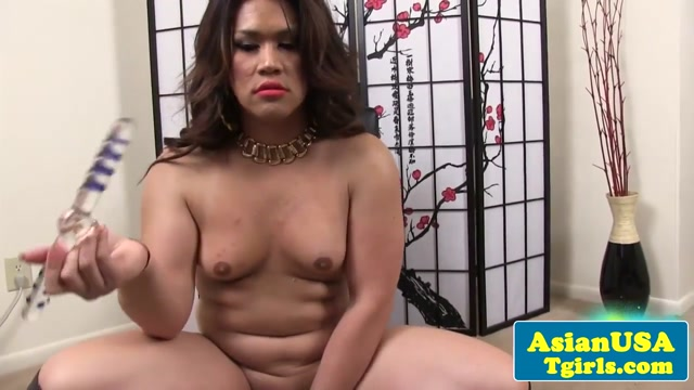 Ladyboy toying her big ass and tugs tiny cock My husband had an affair with my sister