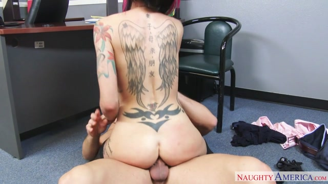 Anna Bell Peaks & Johnny Castle in Naughty Office 2 Lesbo Blondes Pounding Each Other