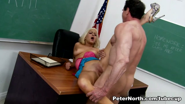 Cami Cole & Peter North in Peter North Is The Nasty Teacher, Scene #07 Trany Creampie Girl