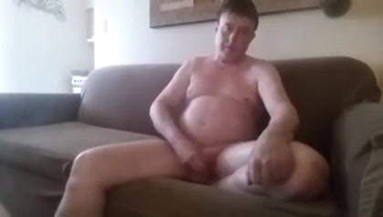 Chubby gay man is seen masturbating Porn with splinter cell