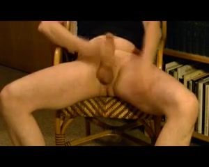 Working in my private library Redhead assholes blowjob penis and anal