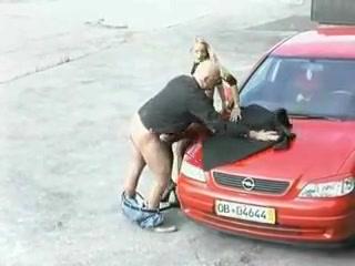 Auto Zwarte Kousen Naaldhakken