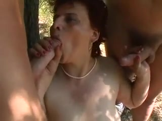 Fat Mature Outdoor R20 Hardcore super fast anal