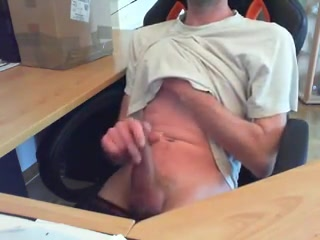 Amateur gay jerks his dick in the office how to start a swingers group