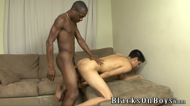 Bradley Wood Gives A Black Guy Some White Ass Busty white girl pov fuck