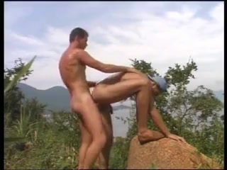 Outdoor porn with two gay hunks boning mother son handjob video