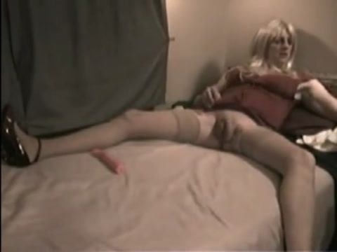 Homemade Solo By A Crossdresser City Party