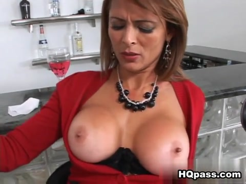 Monique Fuentes, Hunter in Milfs of our lives Movie cum swapping and kissing