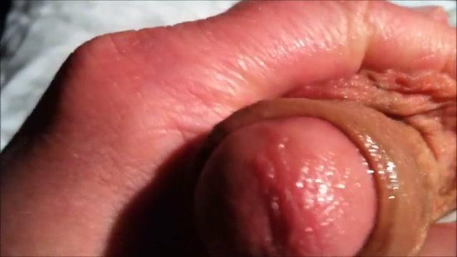 Cirumcised Closeup Soft to Hard - Precum Edging Cum inside my ebony pussy