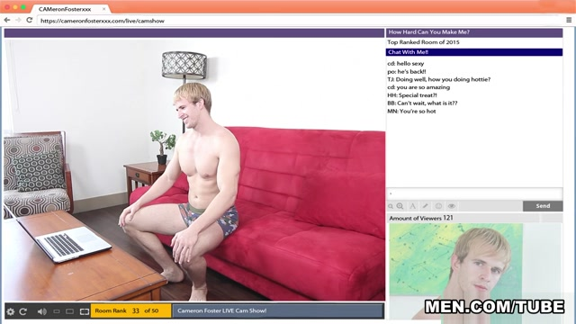 Cameron Foster & Mike De Marko in The Chat Room Part 2 - DrillMyHole girl dong phim sex