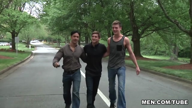 Johnny Rapid, Rafael Alencar, Sergeant Miles, Travis Stevens in Im Leaving You Part 5 - JizzOrgy Girl humping on to nude