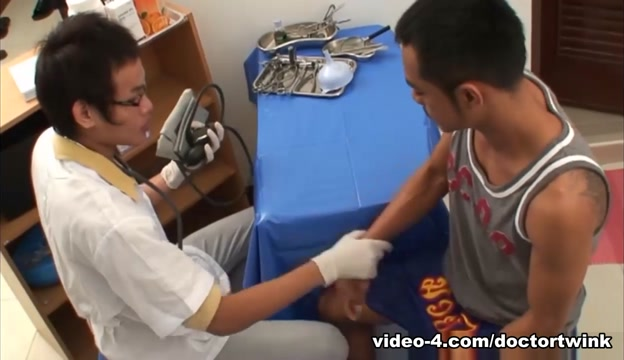 Asian Twinks Albert and Oliver Barebacking - DoctorTwink life like sex dolls for women