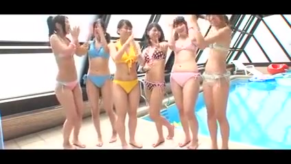Japanese - teenies pool party castrated nude