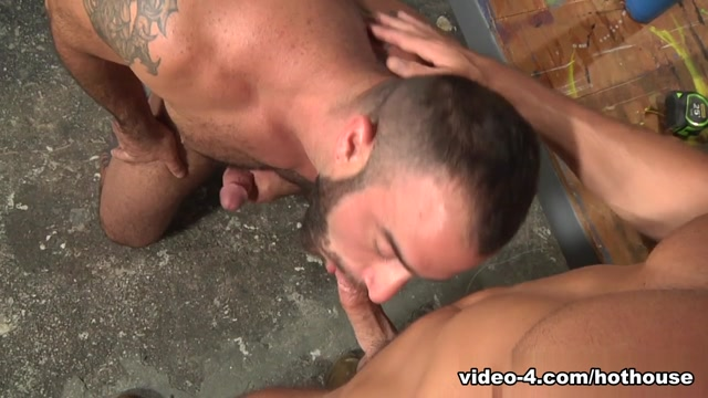 Spencer Reed & Justin Beal in Tools Of The Trade Scene Sexy black men fuck
