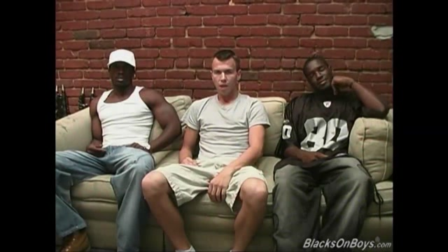 Black thugs sharing the ass of a whiteboi most poplure nude models fucking