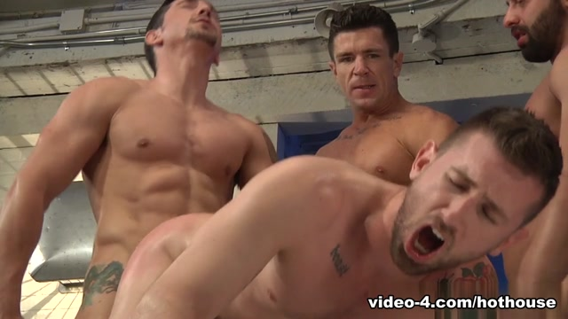 Fabio Stallone & Trenton Ducati & Josh West in Pack Attack 7: Troy Daniels Scene Oops upskirt and down blouse gallery