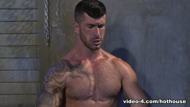 Tyler Wolf & Adam Killian in Hung Americans 1, Scene 04 - HotHouse video one three porn