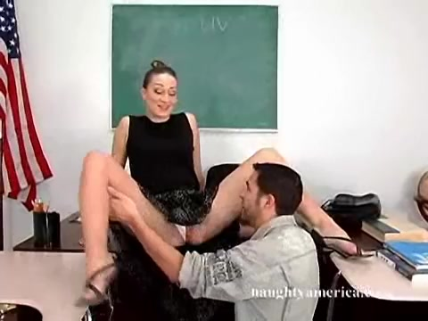 Rachel Luv in My First Sex Teacher porn in high def