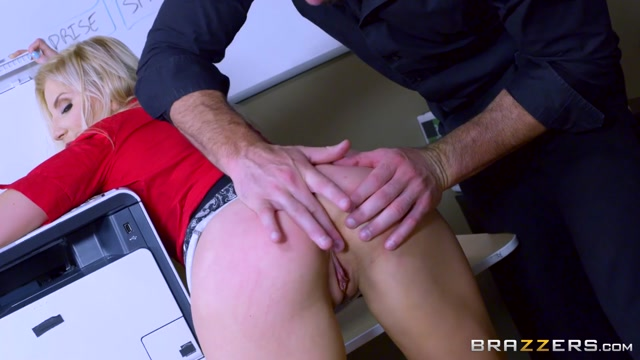 Ashley Fires & Charles Dera in Wham Bam Thank You Paper Jam - Brazzers Bi bbc porn