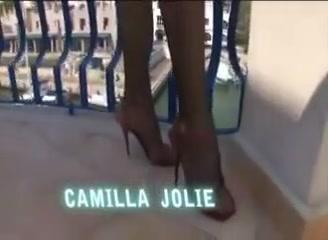 Camilla Jolie fucks girl and guy